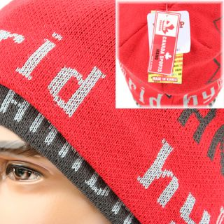 Beanie Skull Head Wrap Knit Hat Canada HYC Red EE Hybrid Sports Ski