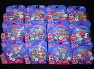 Gift NEW Littlest Pet Shop Prized Bunny RABBIT Puppy DOG Friend Cards