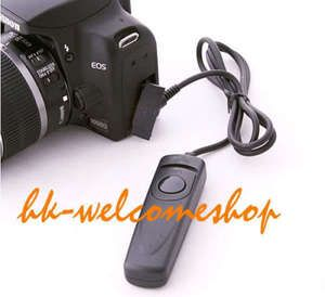 Remote Shutter Release Switch Cord Cable Fr Canon PowerShot G1 x T3i
