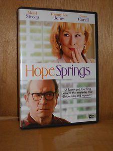 Springs DVD 2012 Meryl Streep Tommy Lee Jones Steve Carell NEW romance