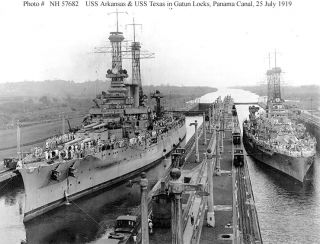 USS Arkansas BB 33 Pacific War Diary WW II Deployment Cruise Book Year