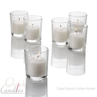 Set of 72 Votive Candle Holders Choose from 18 Styles and Colors