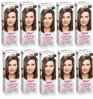 10 Clairol Loving Care Hair Color Light Ash Brown 75 Fresh