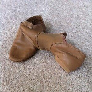 Capezio Child Size 1 M E Series Jazz Dance Shoe Slip On EJ2C In Carmel