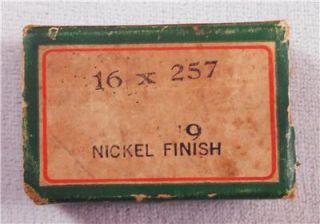 Vintage Box Singer Sewing Machine Needles   Simanco 16x257 19