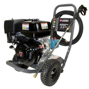 Campbell Hausfeld 4000 PSI Gas Powered Pressure Washer with Honda