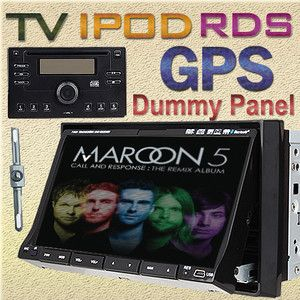 GPS Navi with 7 Car Stereo DVD Radio Player iPod Bluetooth Pip