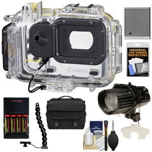 Canon WP DC45 Waterproof Underwater Housing Case Kit for PowerShot D20