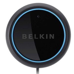 Belkin Aircast Bluetooth Car Hands Free Kit iPhone iPod Speaker F4U037
