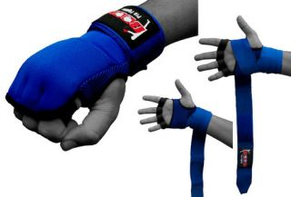 Gel Gloves Hand Wraps MMA Boxing UFC Punch Bag Training Gloves