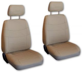 Tan Faux Leather Next Generation Car Seat Covers Free Accessories V