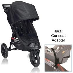 Baby Jogger BJ13210 City Elite Single in Black with Car Seat Adapter