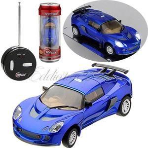 Mini Can RC Radio Remote Control Micro Racing Vehicle Toy Car Gift