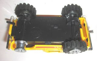 1982 Soma Super Climbers 4x4x4 Stompers Yellow Jeep Car