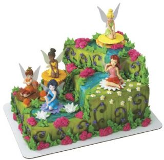 disney fairies tinker bell birthday kit cake topper you are purchasing