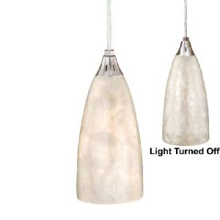 NEW Mini Pendant Lighting Fixture OR Track Light, Nickel, Natural