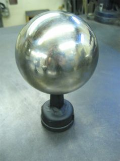 Cannon Ball Steel Sphere Blacksmith Hardy Stake Tool