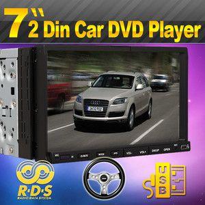 USB SD Head Unit Car Stereo DVD CD Disc Player 7 Touch Screen