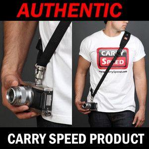 Authentic Black Color Carry Speed CS Slim Camera Sling Strap 4 Olympus
