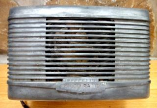1948 antique PHILCO TUBE RADIO~Philco Car Radio UN6 400 HEAVY