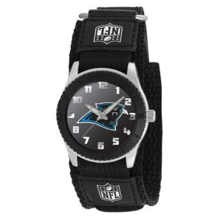 Carolina Panthers NFL Football Wrist Watch Velcro Strap Wristwatch Kid