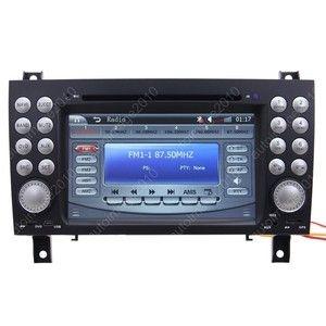 2004 11 Mercedes Benz SLK Class R171 Car GPS Navigation Radio TV iPod