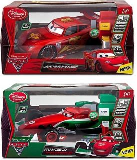 Official Licensed Cars 2 Lightning McQueen Francesco Remote Control RC