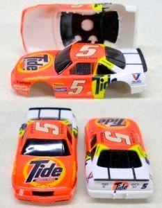 1993 Tyco NASCAR Rudd Tide 5 Slot Car Racing Body