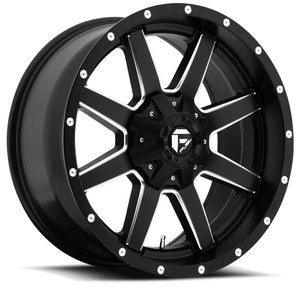 Black Wheels Rims 6x5 5 6x135 6 Lug Chevy GM Ford Truck