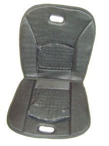 Brookstone Full Comfort Gel Car Seat Cushion Black