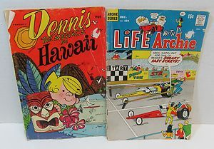 Life with Archie Cartoon Comic Book Magazine Vintage 1970 DENNIS THE