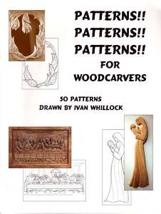 Carving Patterns for Wood Carvers Book Whillock Sale