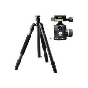 Sirui N2204 Carbon Fiber Tripod Max Load 15kg with K 20x Ballhead Kit