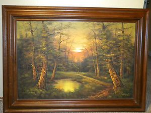 Original Magnificent Oil Painting by Phillip Cantrell