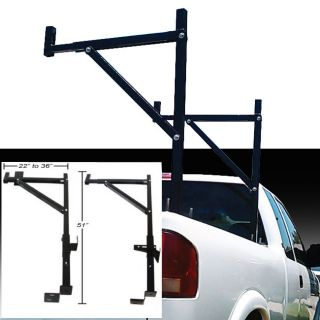 New Steel Pickup Truck Mount Ladder Lumber Rack 250lb Capactity 5 Year