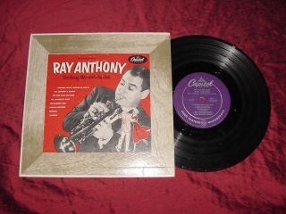 Ray Anthony Young Man with The Horn 10 LP H373