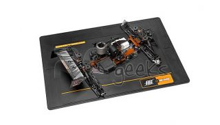 HPI Racing RC Car Large Rubber HPI HB Racing Pit Mat Black 101997