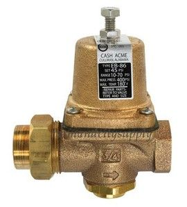 cash acme 22383 0045 pressure regulating valve water regulator 1 2. Black Bedroom Furniture Sets. Home Design Ideas