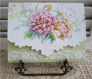Carol Wilson Peony Mix 10 Ct Blank Note Cards So Pretty