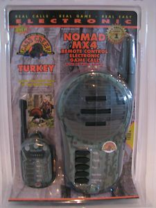 Cass Creek Nomad MX4 Remote Control Electronic Turkey Call