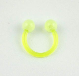 EAR EYE NIPPLE cartilage RING 10MM Horseshoe piercing jewelry CBR065