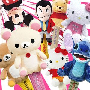 Japan Anime Manga Cartoon Characters 460 CC Headcover