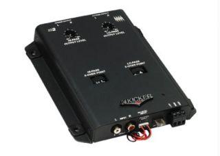 KICKER KX2 CAR AUDIO PREMIUM QUALITY CROSSOVER 2 WAY W/ REMOTE CONTROL