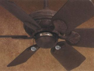 Casablanca Wailea 32 Ceiling Fan Model 41U46D in Rustic Iron with