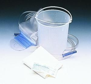 Enema Bag and Bucket Set 1500cc 60 Tube Castile Soap