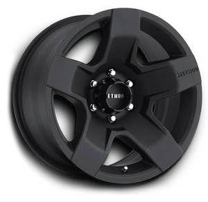 Method MR302 Fat Five 18x9 Black Wheels All Trucks SUV