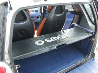 Smart Car Fortwo Parcel Shelf Cover and Supporting Rods Full Set 01