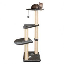 Pet Altea Scratching Post Cat Tower Platinum Grey Cat 43882