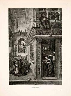 Renaissance Annunciation Emygdius Carlo Crivelli Virgin Mary