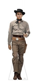 Bonanza Little Joe Cartwright Lifesize Cardboard Standup Standee